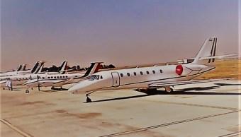 Habrá venta de casi un centenar de aeronaves del Gobierno en la Feria Aeroespacial 2019