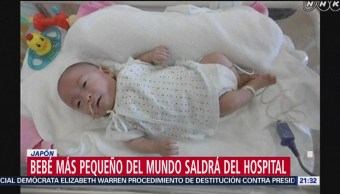 FOTO: 'Bebé más pequeño del mundo', listo para salir del hospital, 19 ABRIL 2019