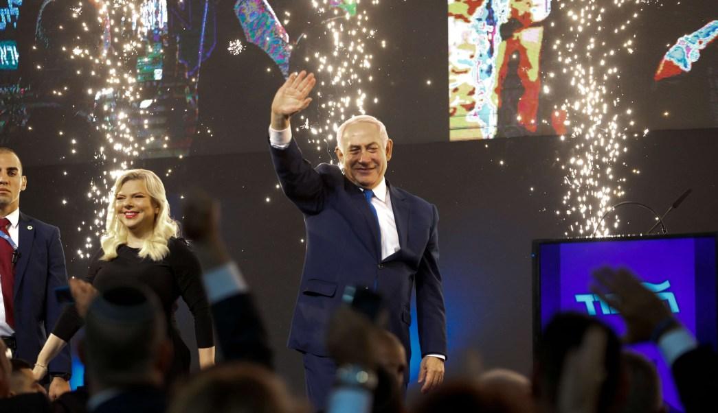 Netanyahu canta victoria para el bloque de derecha en Israel