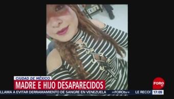 Foto: Buscan a madre que desapareció con su hijo