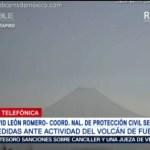 FOTO: Cambian semáforo de alerta en el volcán de Fuego en Colima, 27 ABRIL 2019