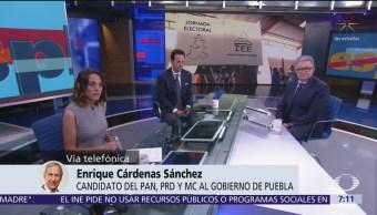 Candidato PAN, PRD y MC al gobierno de Puebla apuesta a propuesta ciudadana