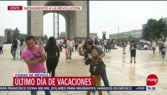FOTO: Capitalinos disfrutan último día de vacaciones de Semana Santa, 27 ABRIL 2019