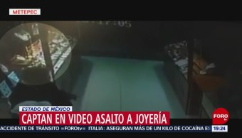 FOTO:Captan asalto a Joyería en Metepec, Edomex, 18 ABRIL 2019