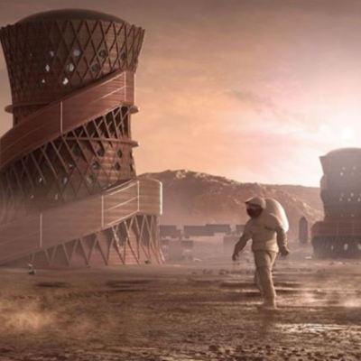 NASA selecciona a finalistas del concurso de casas para construir en Marte