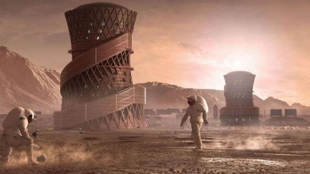 Foto: NASA selecciona a finalistas del concurso de casas para construir en Marte, 3 abril 2019