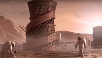 Foto Diseños Viviendas Marte NASA 2 Abril 2019