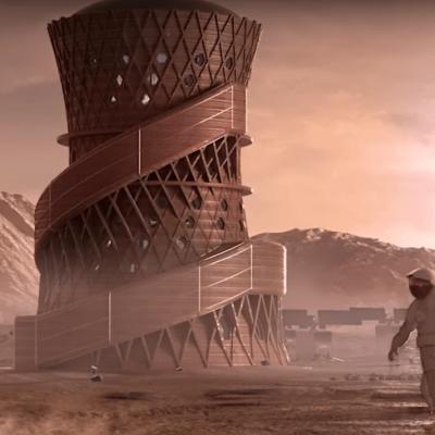 VIDEO: Viviendas en Marte que podría construir la NASA