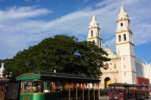 Foto: Centro de Campeche, 10 de abril 2019. Getty Images, archivo