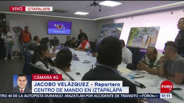 FOTO: Centro de mando de Iztapalapa opera eficazmente, 18 ABRIL 2019