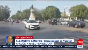 Foto: Miles Usuarios Afectados Apagón Península Yucatán 5 de Abril 2019