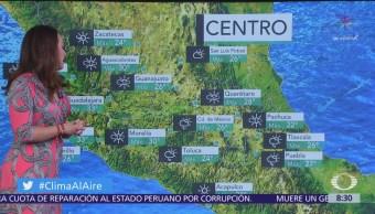 Clima Al Aire: Prevalece ambiente de cálido a caluroso en México