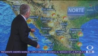 Clima Al Aire: Prevén temperaturas de 29 a 31 grados en CDMX
