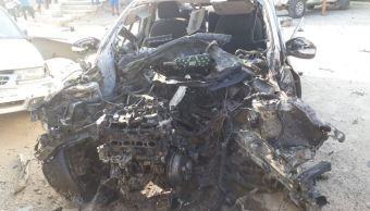 Identifican a cuatro presuntos responsables de explosión de coche bomba en Xaltianguis