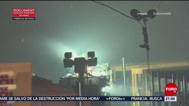 Foto: Colossus Robot Combatir Incendio Notre Dame 16 de Abril 2019