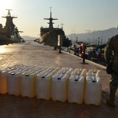 Detectan 'huachicol' en tres embarcaciones en Acapulco, Guerrero