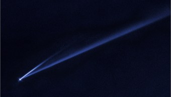Cometa-doble-cola-Asteroide-NASA-Hubble