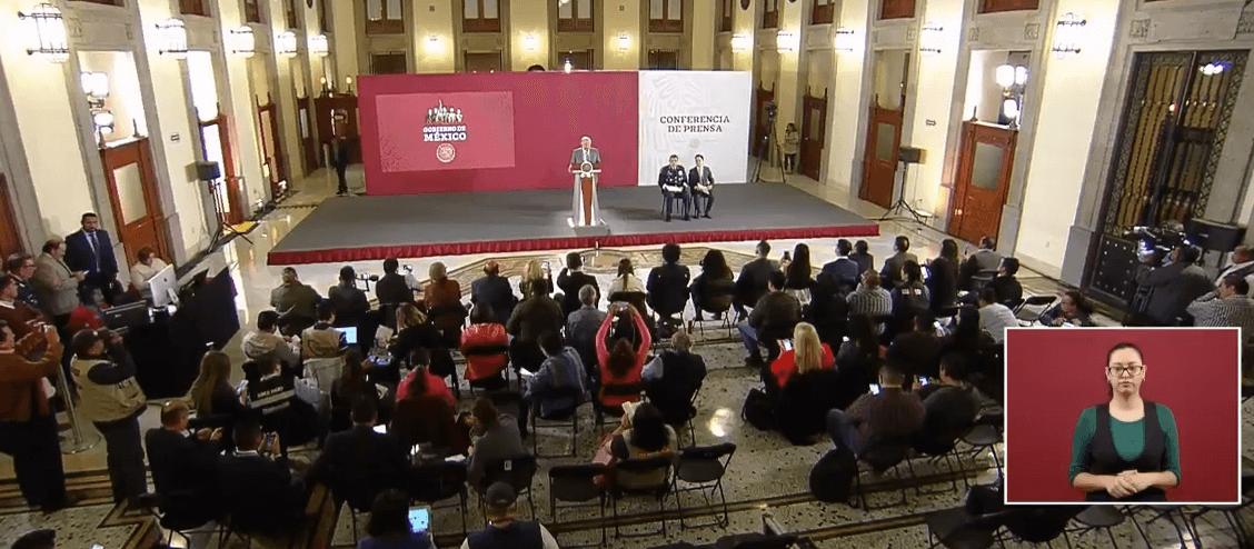 FOTO Transmisión en vivo Conferencia de prensa AMLO 24 de abril 2019 (YouTube/AMLO)