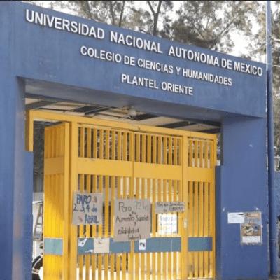 Confirman muerte de alumna en el CCH Oriente; suspenden clases
