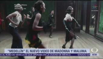 Consideran que video musical de Madonna y Maluma es una bomba sensual