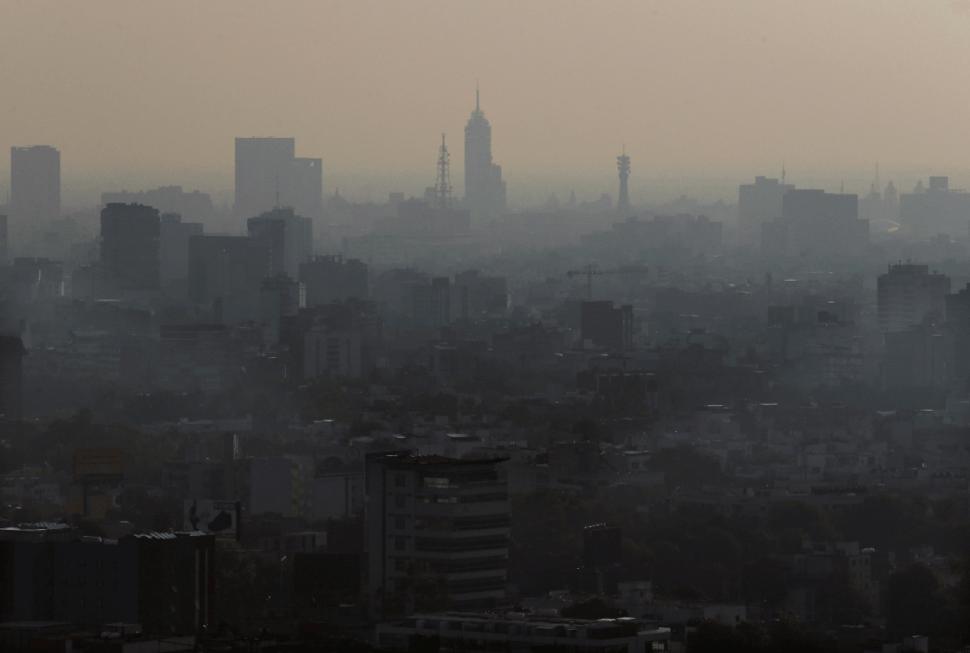 Foto: Contaminación ambiental en la Ciudad de México, 20 de mayo de 2018, México