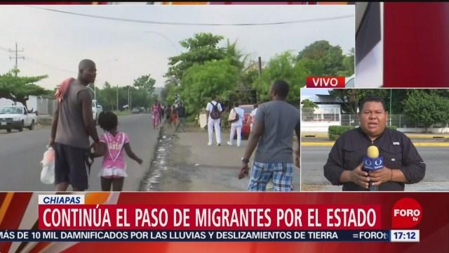 Foto: Continúa búsqueda de migrantes fugados del INM