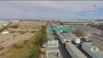 Foto: Afectaciones Cruces Frontera El Paso 1 de Abril 2019