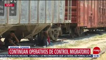 Foto: Continúan operativos de control migratorio