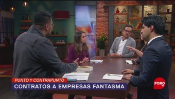 Foto: Contratos Empresas Fantasma Gobierno de AMLO 30 de Abril 2019