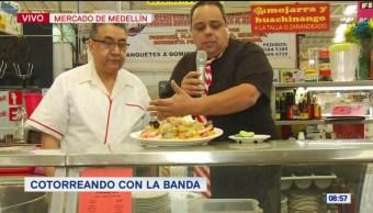 #CotorreadoconlaBanda: 'El Repor' suelto en el Mercado de Medellín