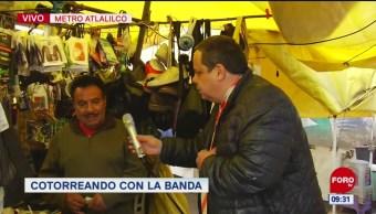 #CotorreandoconlaBanda: 'El Repor' suelto en el Metro Atlalilco