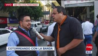 #CotorreandoconlaBanda: 'El Repor' suelto en el Metrobús Chilpancingo
