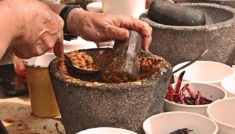 Verbena gastronómica deleita a visitantes, en Azcapotzalco