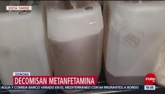 Foto: Decomisan más de 100 k de droga en Sonora