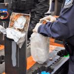 Foto: Decomiso de metanfetaminas en Los Angeles, California, 8 de febrero de 2019, Estados Unidos