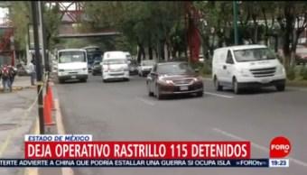 FOTO: Deja 'operativo rastrillo' 115 personas detenidas, Deja 'operativo rastrillo' 115 personas detenidas, 7 de abril 2019