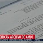 Foto: Desclasifican Archivo Amlo Militante PRI Tabasco 16 de Abril 2019