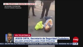 Foto: Policía Atropelló Mujer Coyoacán CDMX Fuga 16 de Abril 2019