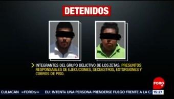 FOTO: Detienen a cabecilla zeta en Coatzacoalcos, Veracruz, 13 de abril 2019