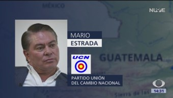 FOTO: Detienen a candidato de Guatemala por acuerdos con cártel de Sinaloa, 18 ABRIL 2019