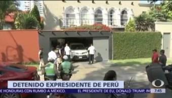 Detienen a Pedro Pablo Kuczynski por caso Odebrecht