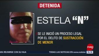 FOTO:Dictan prisión preventiva a pareja que robó a la bebé Nancy Tirzo, 20 ABRIL 2019