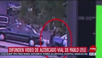 Foto: Difunden video de altercado vial de Pablo Lyle