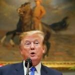 Foto: El presidente de Estados Unidos, Donald Trump, habla sobre el despliegue de 5G en la Casa Blanca en Washington, abril 13 de 2019 (Reuters)