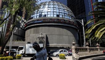 Foto: Edificio de la Bolsa Mexicana de Valores, 11 de febrero de 2016, Ciudad de México
