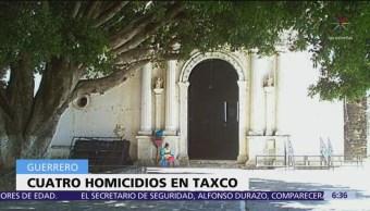 Ejecutan a cuatro personas en Taxco, Guerrero