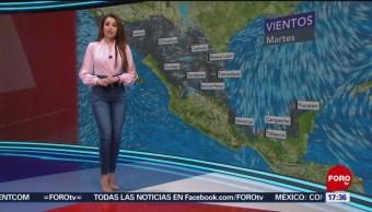 Foto: El clima, con Mayte Carranco del 23 de abril de 2019