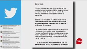Foto: El movimiento MeToo se deslinda de la muerte de Armando Vega Gil