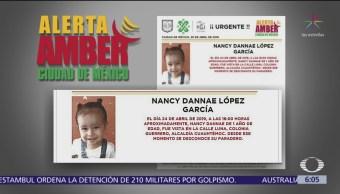 Emiten Alerta Amber para localizar a niña en CDMX
