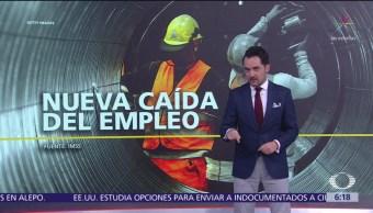 Empleo en México sufre caída en marzo